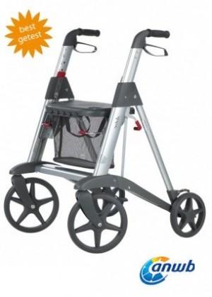 Rollator lichtgewicht erg handig voor oudere!